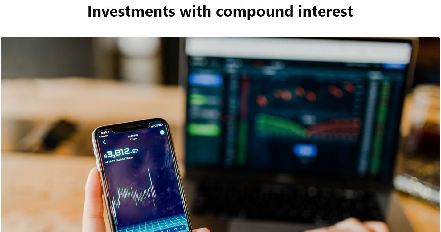 does investing in cryptocurrency compound interest